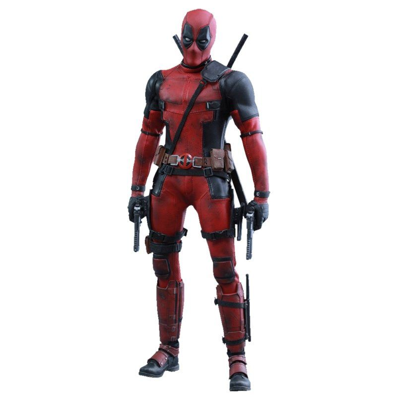 Action Figure Deadpool: Escala 1/6 (MMS347) - Hot Toys