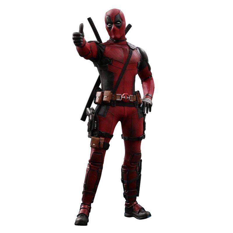 Action Figure Deadpool: Escala 1/6 (MMS347) - Hot Toys
