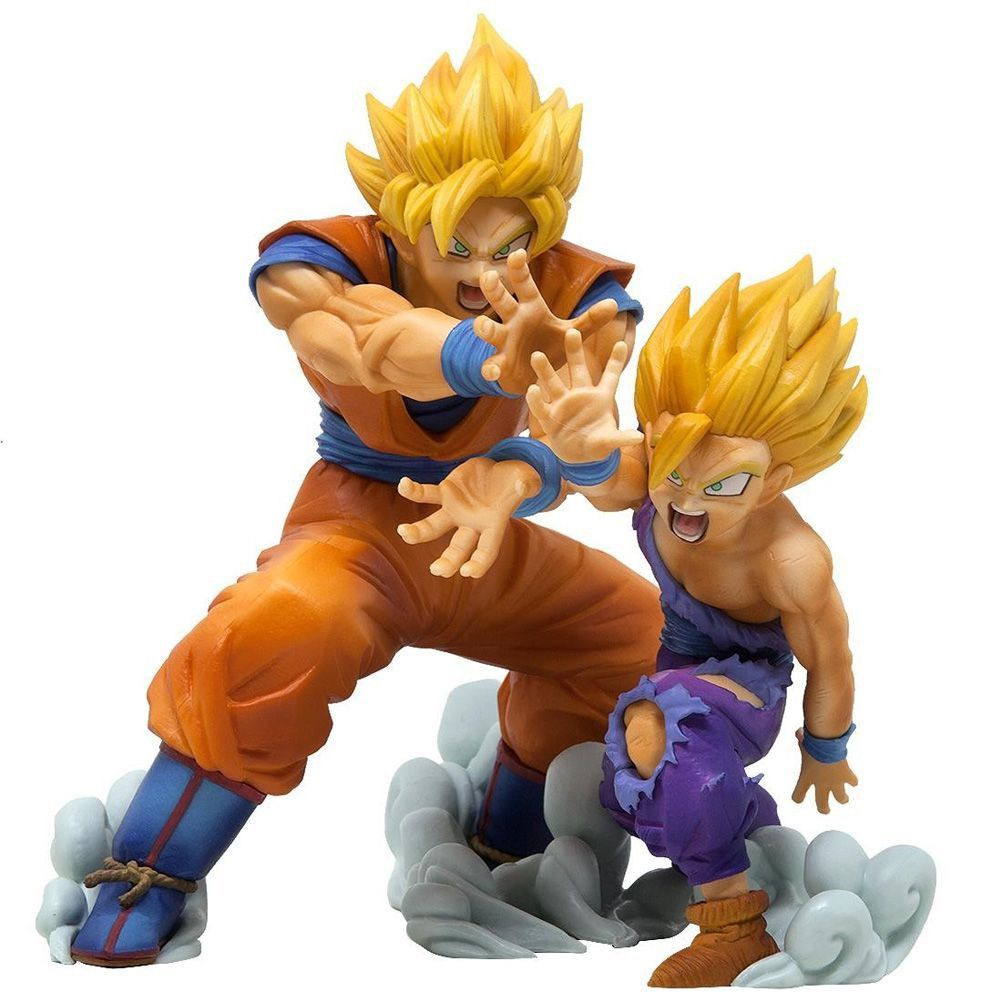 Action Figure - Goku e Gohan VS Existence - Dragon Ball Z