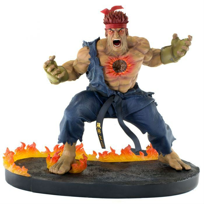 EVIL RYU  - STREET FIGHTER -  THE BEAST UNLEASHED - Tsume
