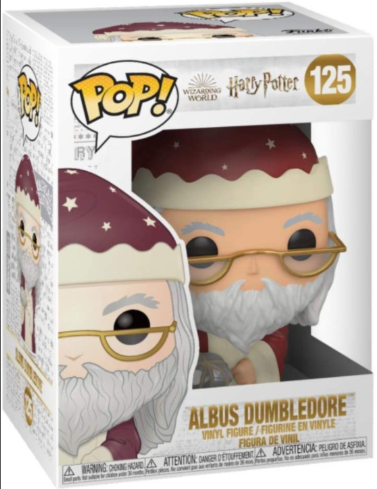 Albus Dumbledore (Holiday) 125 - Harry Potter - Funko Pop!