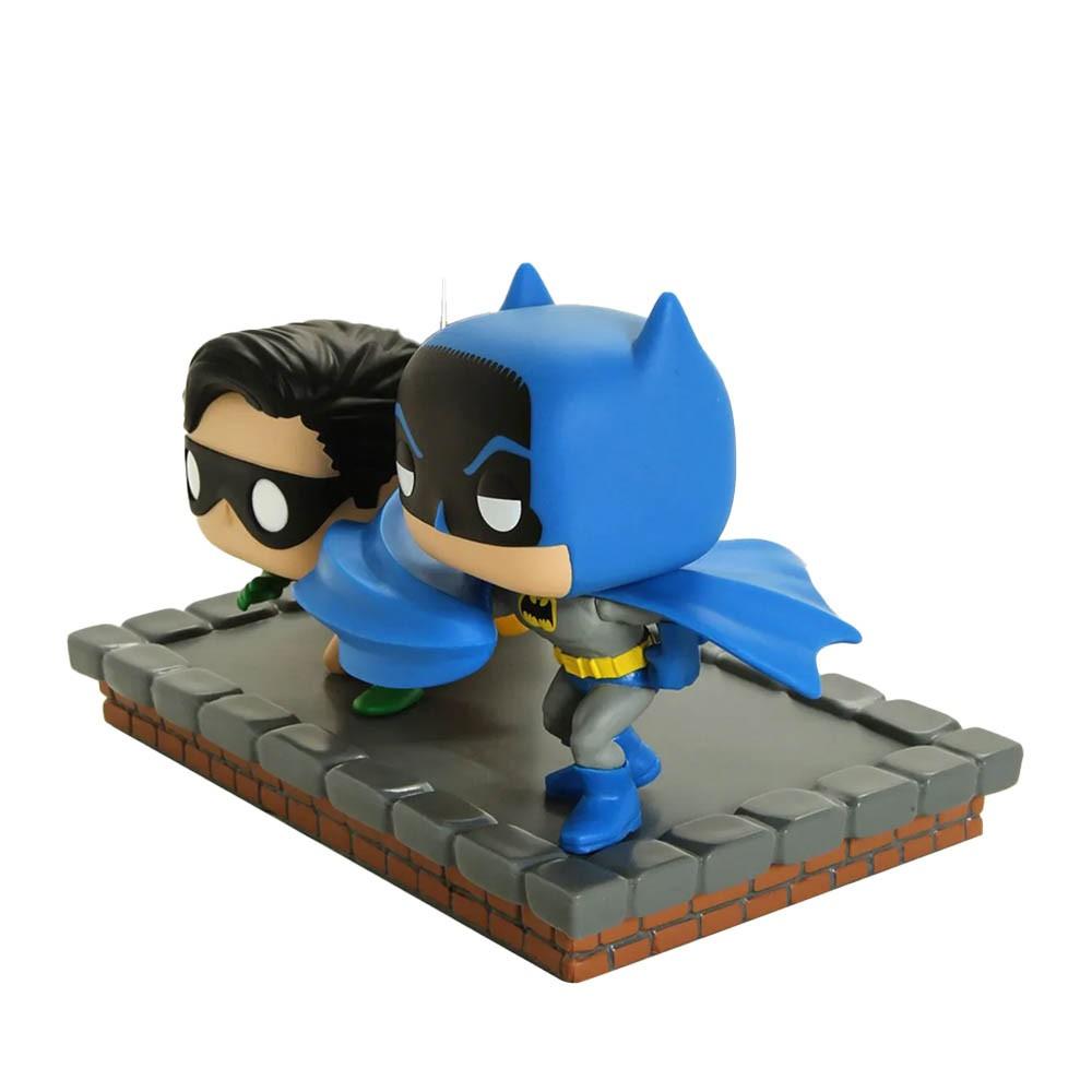 Batman And Robin Funko Pop 281 - Pop Heroes Batman 80 Years Comic Moments (New Look Batman 1964)