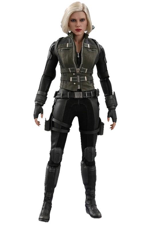 Boneca Black Widow - Marvel Avengers Infinity War Black - Hot Toys