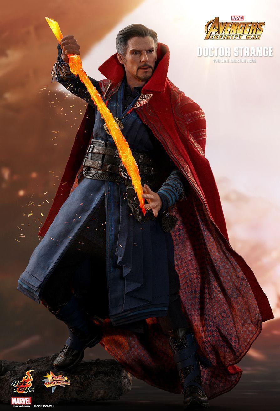 Doutor Estranho (Doctor Strange): Vingadores Guerra Infinita (Avengers Infinity War) (MMS484) Escala 1/6 - Hot Toys