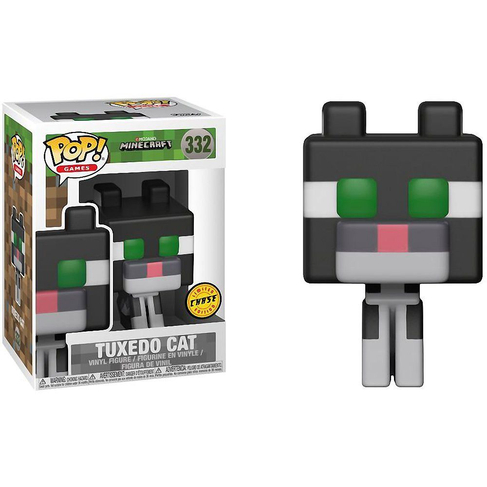 Tuxedo Cat 332 - Funko Pop Chase Minecraft