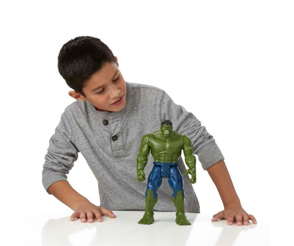Hulk Marvel Avengers - Hasbro - Titan Hero Series