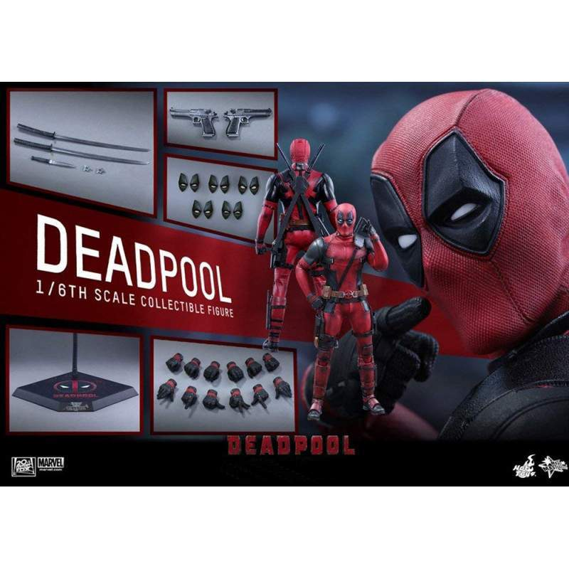 Deadpool 2 MMS 490 - Hot Toys Marvel - Escala 1/6