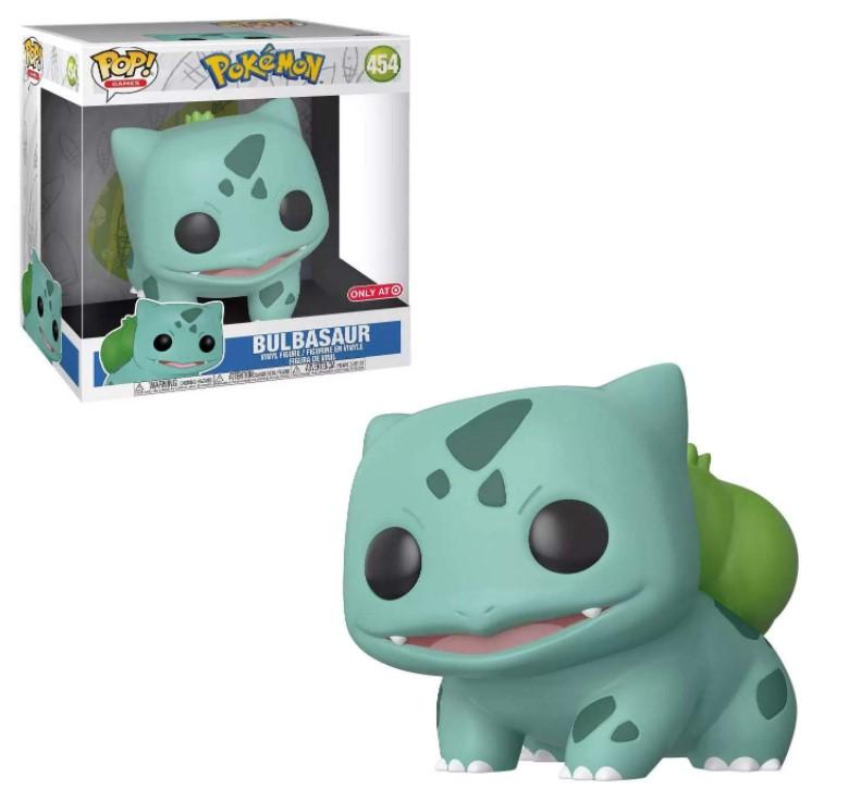 """Bulbasaur (10"""" Super Sized) 454 - Pokémon Exclusive - Funko Pop Games"""