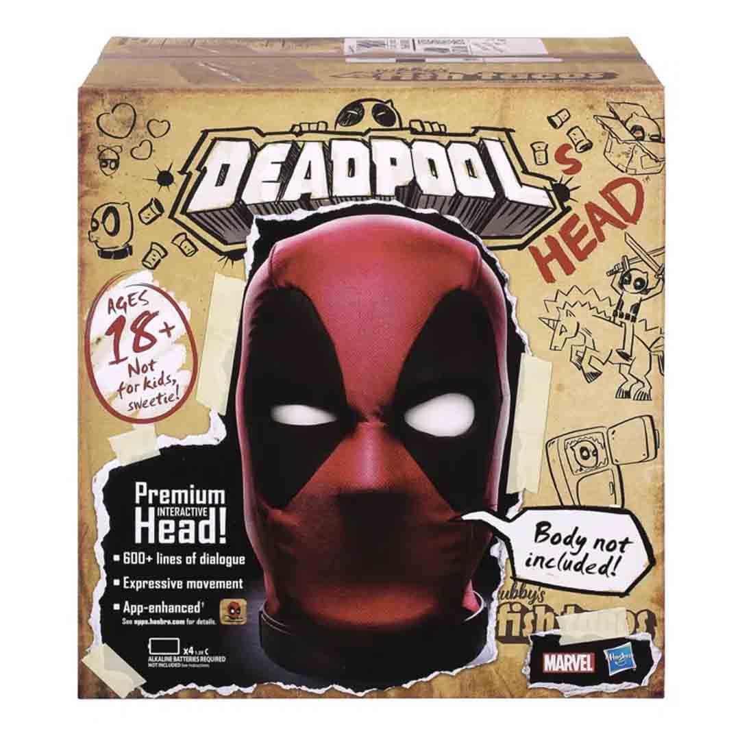 Cabeça Interativa Eletrônica Deadpool - Hasbro