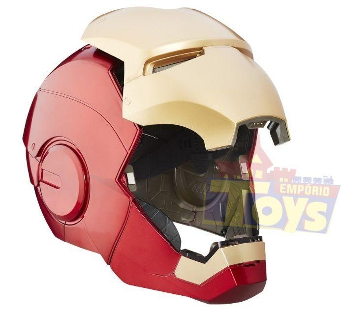 Capacete Eletrônico Iron Man Legends Series Marvel - Hasbro