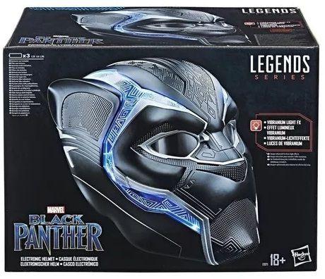 Capacete Eletrônico Pantera Negra - Hasbro - Marvel Legends