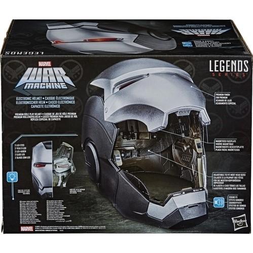 Capacete Eletrônico War Machine Legends Series - Hasbro