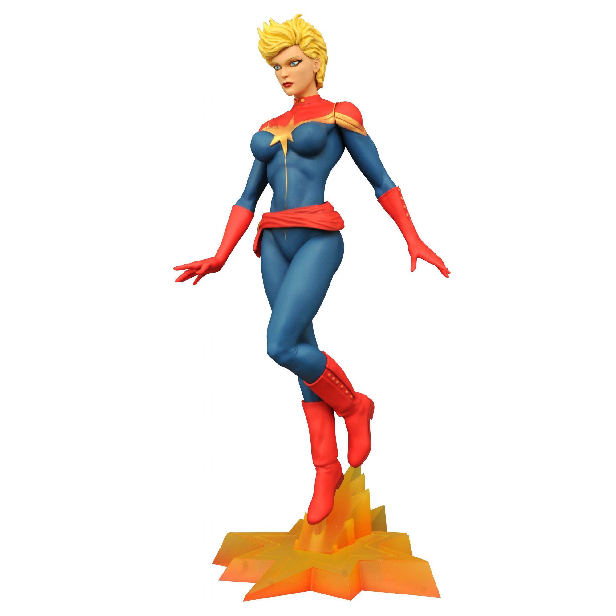 Capitã Marvel - Marvel Gallery - Diamond Select