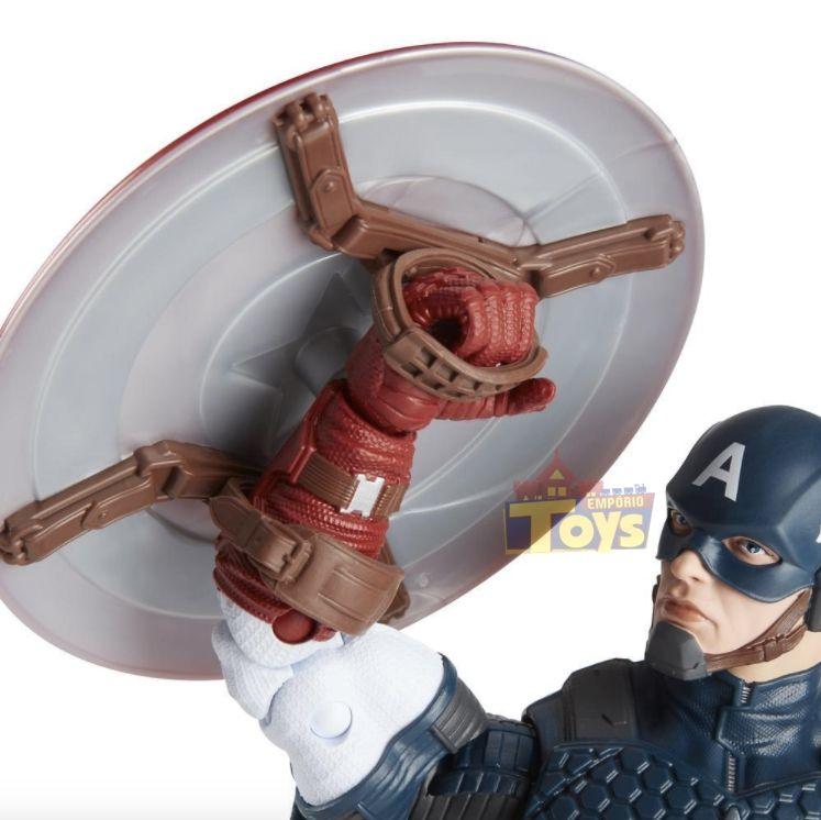 Boneco Marvel Legends - Capitão América - Hasbro