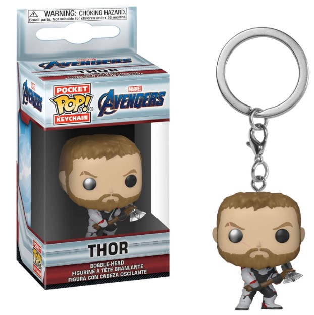 Chaveiro Thor - Vingadores Ultimato - Funko Pop
