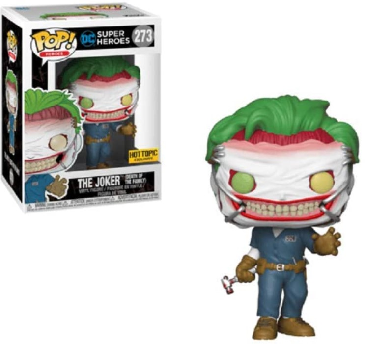 Coringa (The Joker Death of the Family) - DC Super Heroes (Exclusivo) #273 - Funko