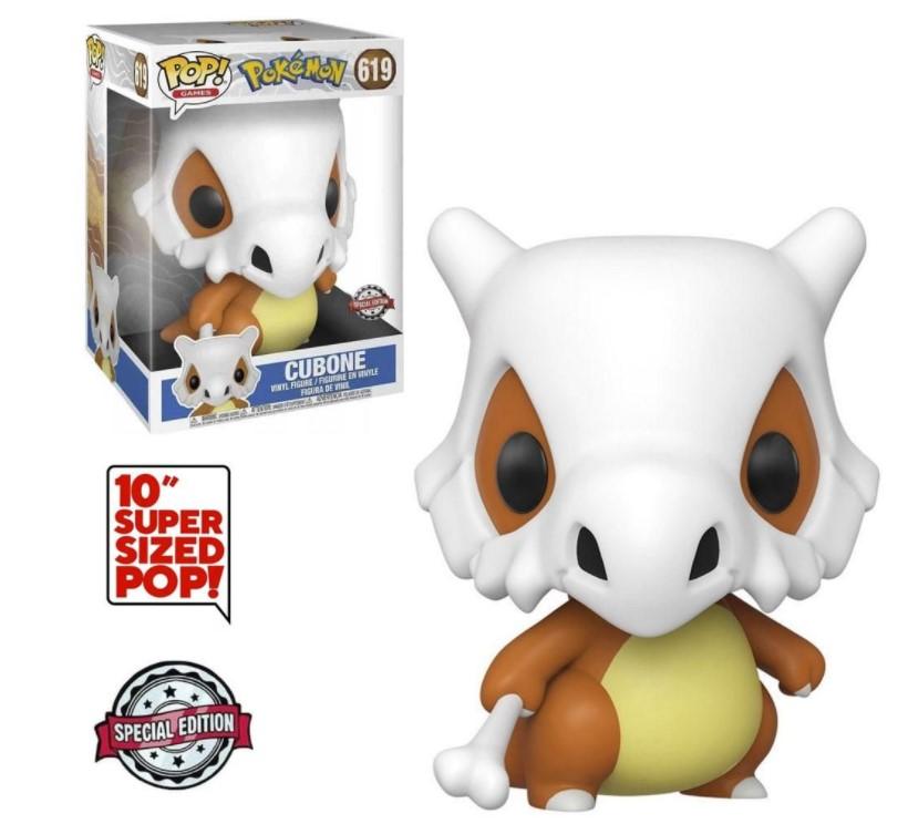 Cubone 619 (Super Sized 10) - Pokémon Exclusive - Funko Pop