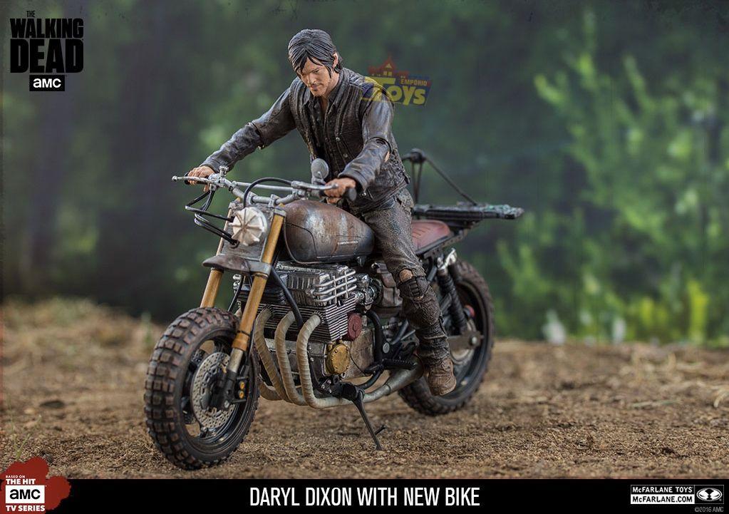 Daryl Dixon The Walking Dead Custom Bike Deluxe - Mcfarlane