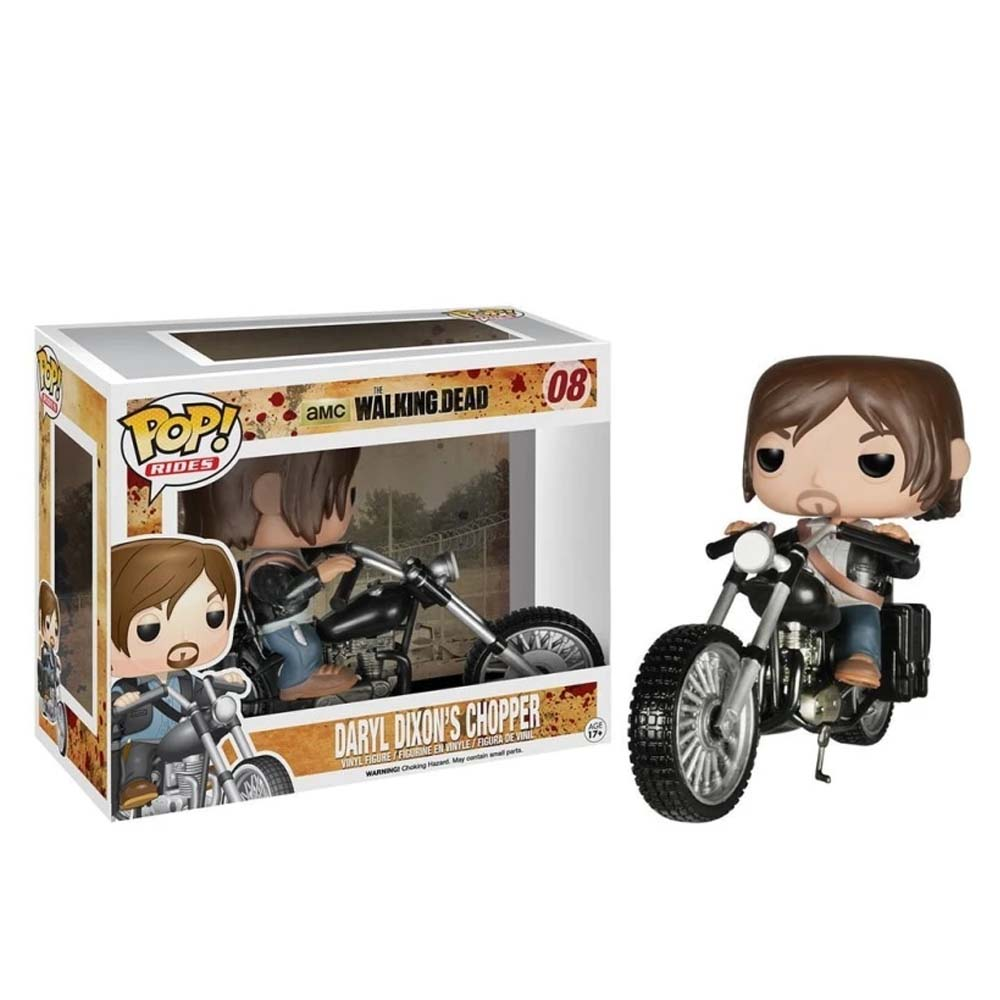 Daryl Dixons Chopper 08 - The Walking Dead - Funko Pop Rides Television