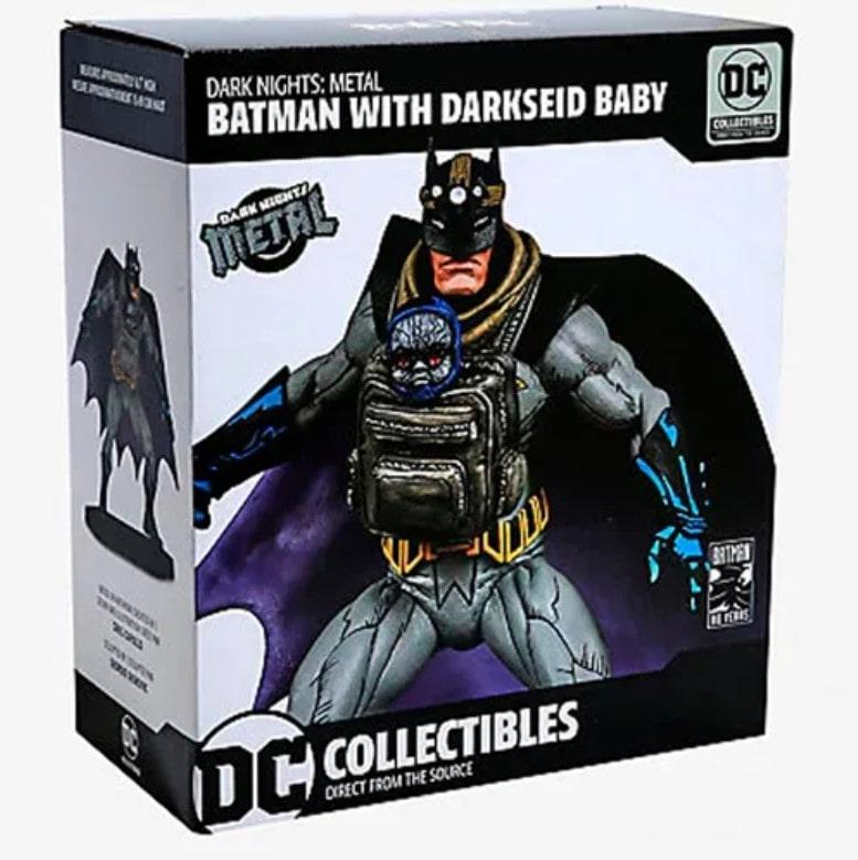 Batman And Darkseid Baby Dark Nights Metal - DC Collectibles