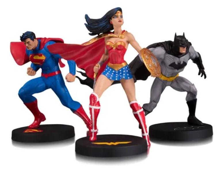Superman Batman Wonder Woman - Dc Collectibles