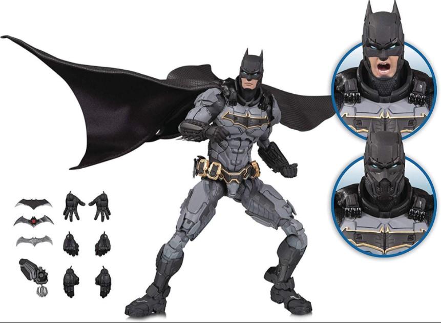 Batman Dc Prime Action Figure - Dc Collectibles With 18 Pieces