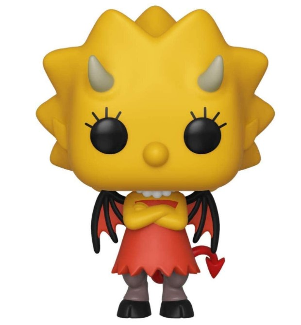 Demon Lisa 821 - The Simpsons Tree House Of Horror - Funko Pop Television