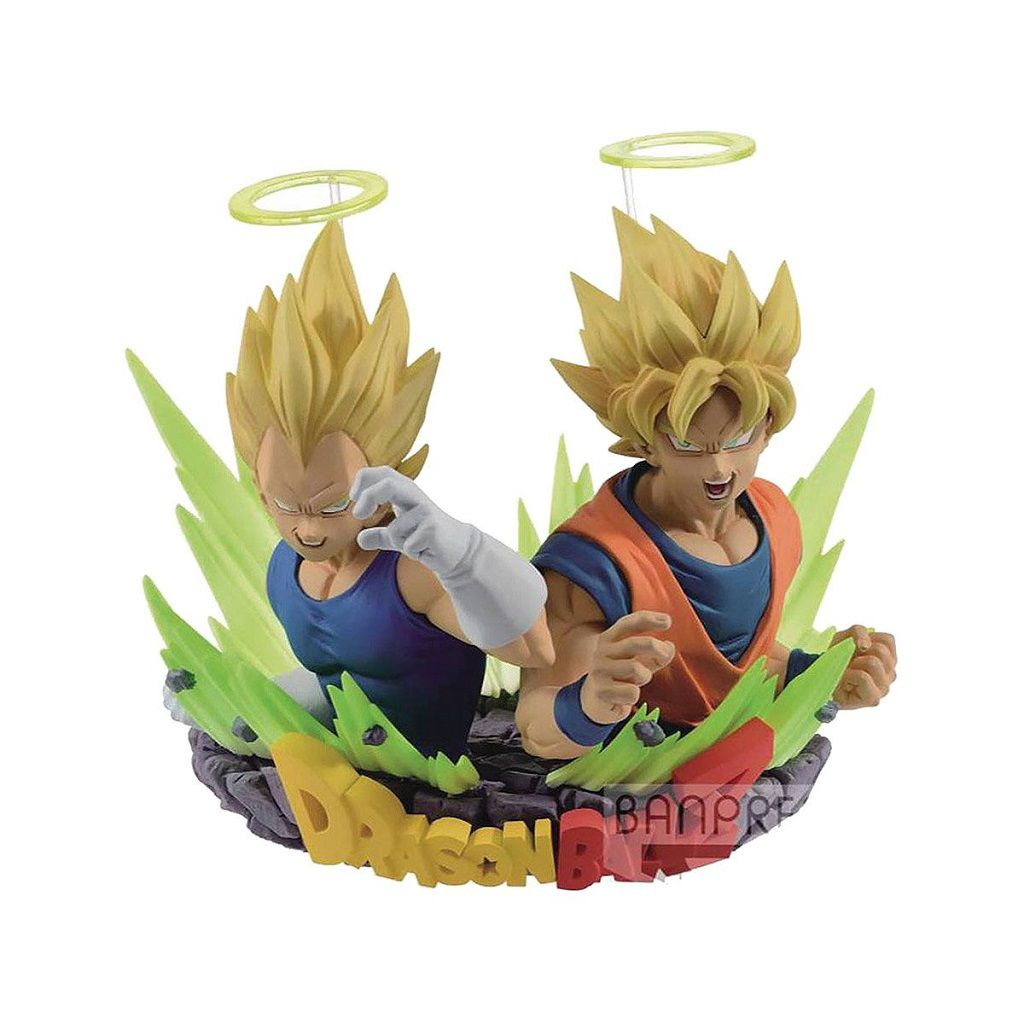 DRAGON BALL Z SUPER SAIYAJIN GOKU & SUPER SAIYAJIN VEGETA BANPRESTO