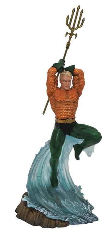 Estátua Aquaman - Aquaman - Diamond Select Dc Gallery