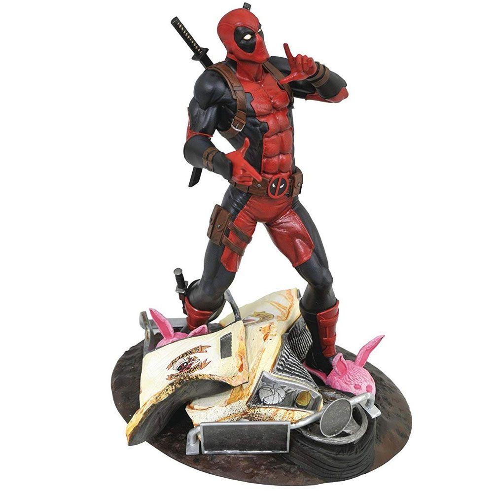 Deadpool Marvel Gallery - Diamond Select  - Taco Truck Statue Diorama
