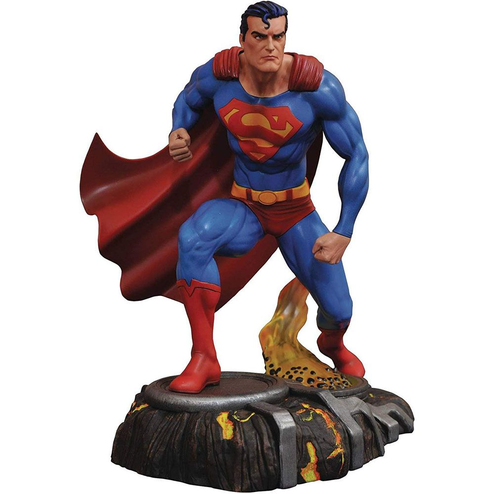 Superman Estátua Diamond Select - DC Gallery