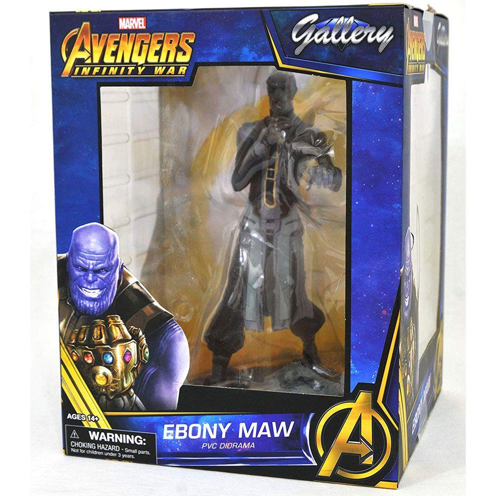 Estátua Ebony Maw: Avengers Guerra Infinita (Infinity War) Marvel Comics Gallery - Diamond Select