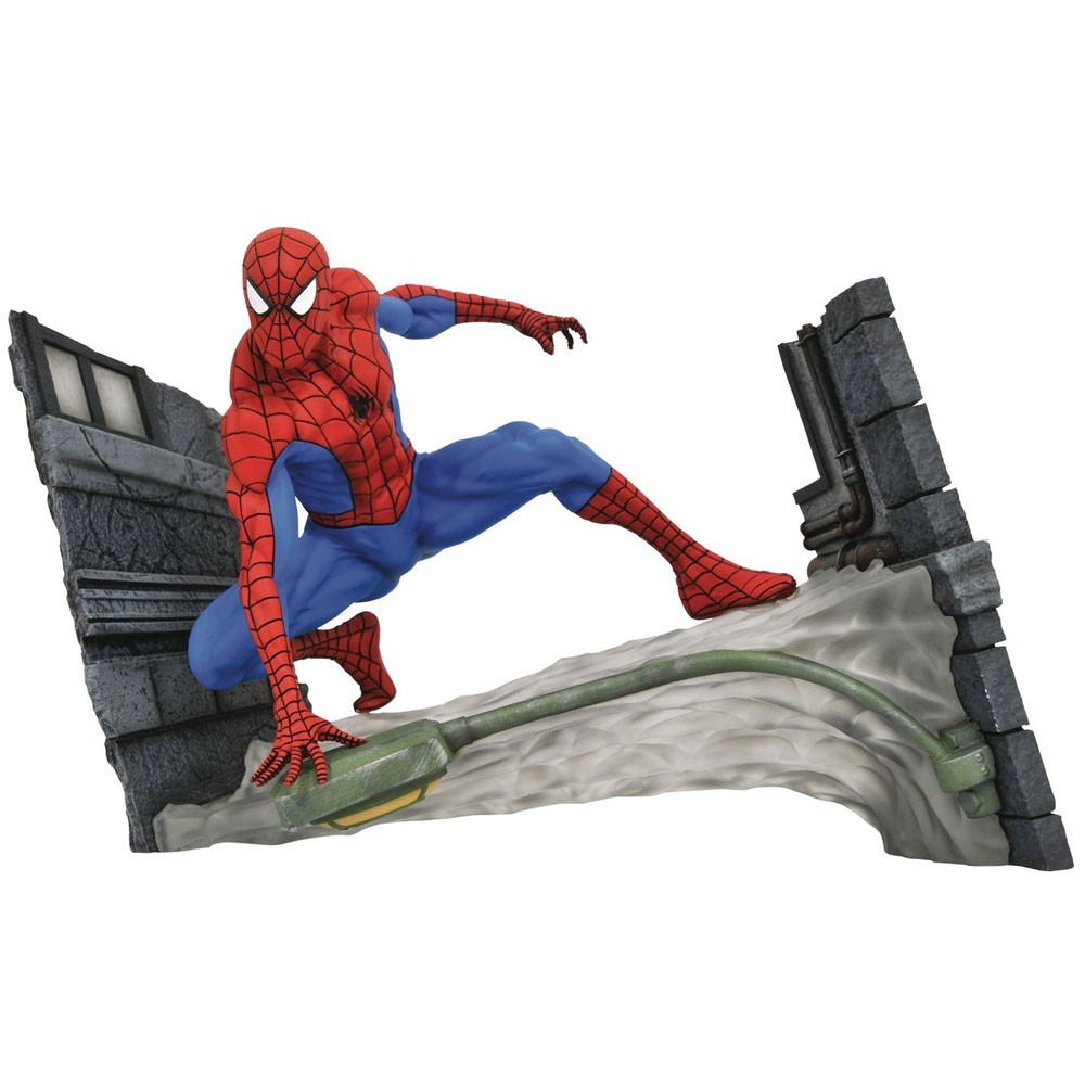 Spider Man Marvel Gallery Comics Diorama - Diamond Select