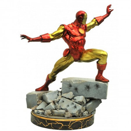 Iron Man Classic  Resin Statue Marvel Premier Collection - Diamond Select