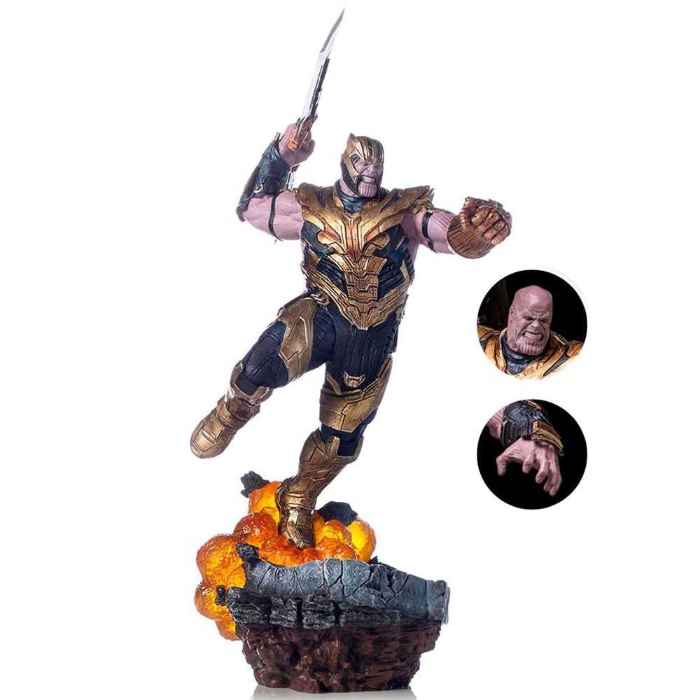 Thanos Deluxe (Exclusive) Iron Studios BDS Art Scale 1/10 Avengers Endgame