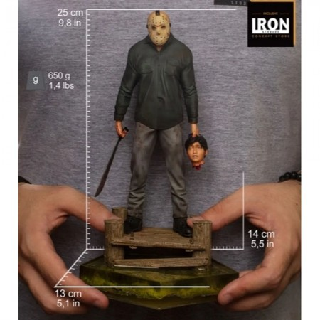 Jason Voorhees Iron Studios Deluxe 1/10 - Friday The 13TH