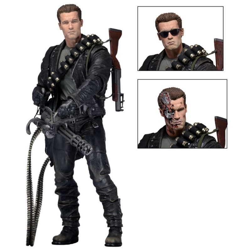 Exterminador do Futuro - T-800 Terminator 2 Judgment Day Neca