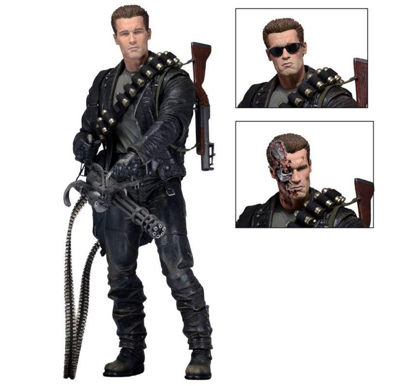 Exterminador Do Futuro - T-800 Terminator 2 Judgment Day (Video Game Ver.) Neca