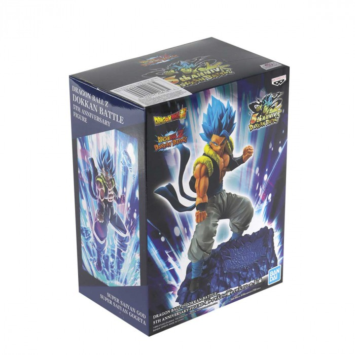 Gogeta TBA Super Saiyan God Dragon Ball - Banpresto