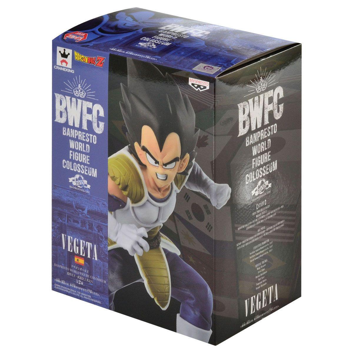Vegeta Vol6 World Colosseum 2 - Dragon Ball Z - Banpresto