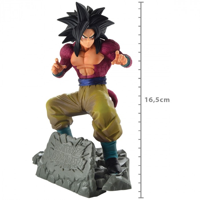 Super Saiyan 4 Son Goku Diorama - Dokkan Battle Dragon Ball Z - Banpresto