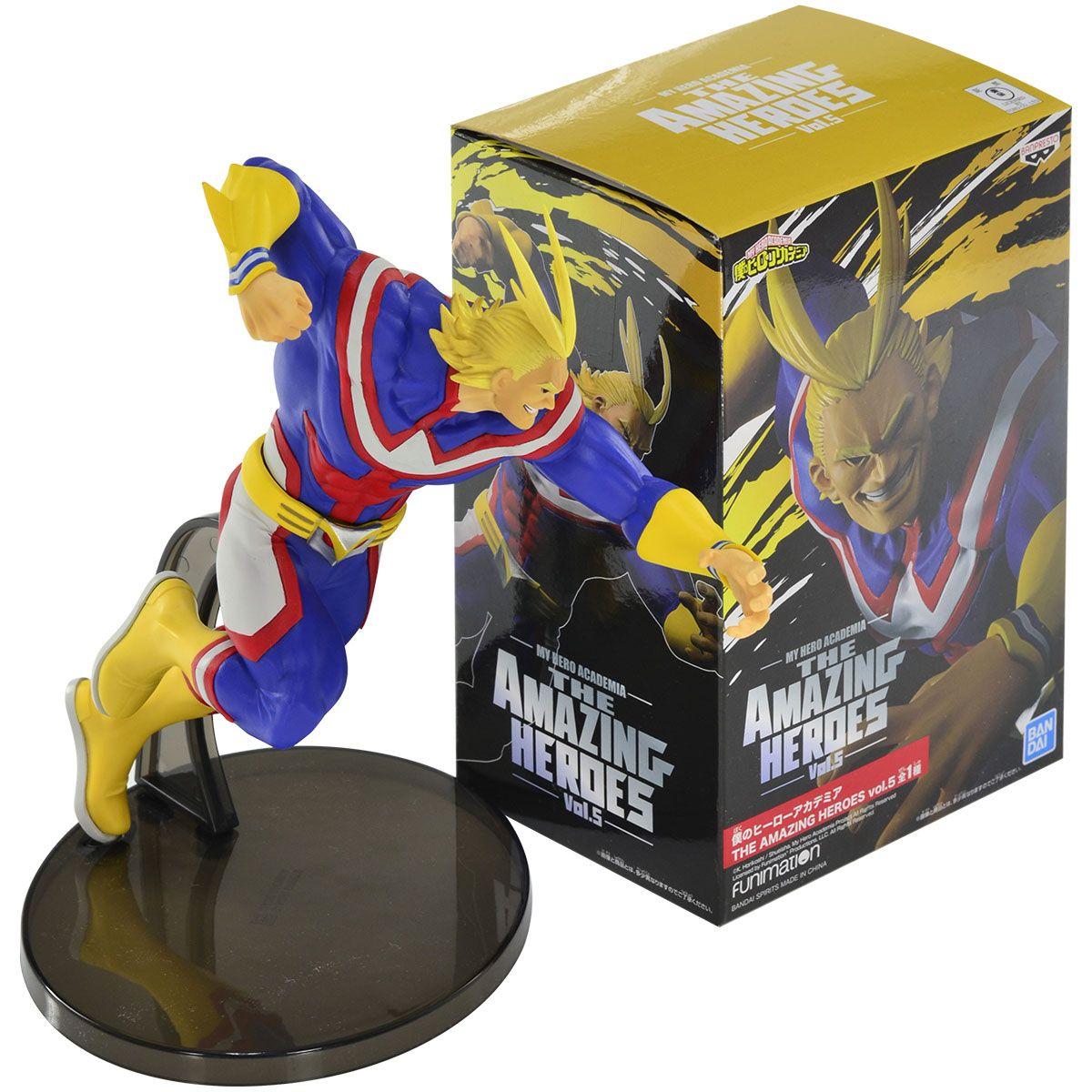 All Might - My Hero Academia - The Amazing Heroes Vol 5 - Bandai Banpresto