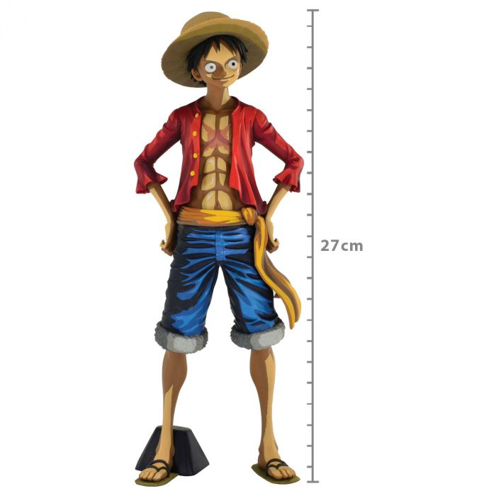 Luffy Manga Dimensions Grandista Monkey D - One Piece - Banpresto