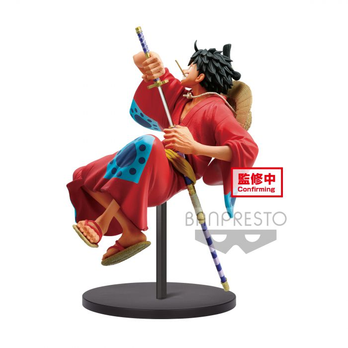 The Monkey D Luffy Wanokuni One Piece King of Artist - Banpresto