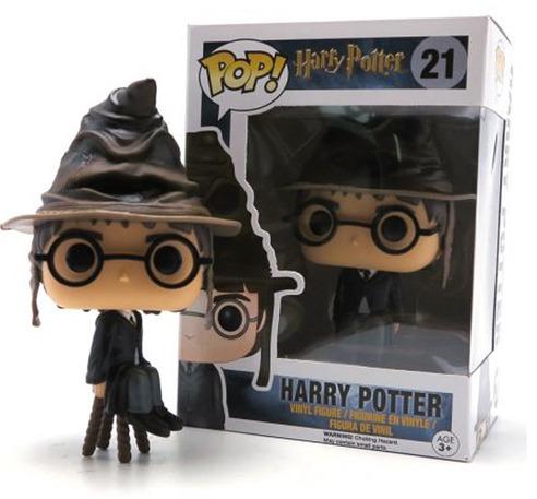 Funko Pop Harry Potter 21 Com Chapéu Seletor