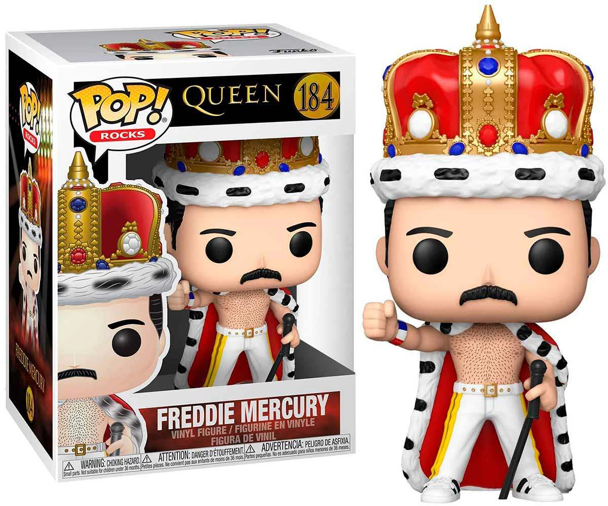 Funko Pop King Freddie Mercury Queen 184