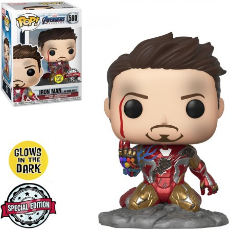 Iron Man 580 - Funko Pop Marvel Avengers Endgame Exclusive
