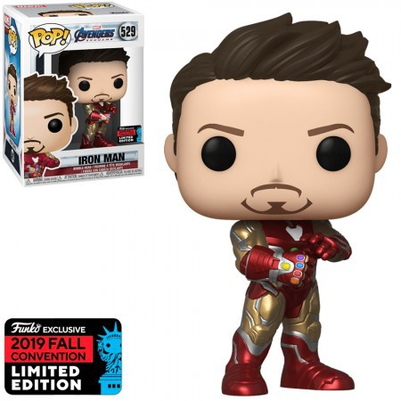 Iron Man with Gauntlet 529 - Funko Pop - Marvel Avengers Endgame Exclusive NYCC 2019