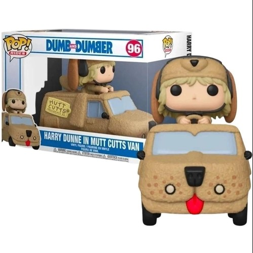 Funko Pop Dumb and  Dumber 96 - Harry Dunne in Mutt Cuts Van