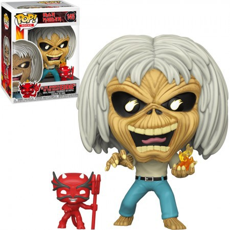 Eddie 145 Funko Pop Rocks The Number Of the Beast - Iron Maiden